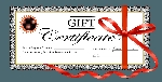 Gift Certificate - Choose An Amount